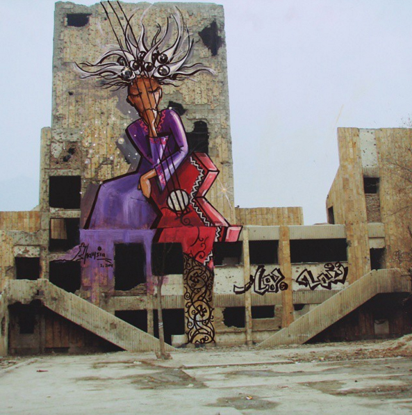 shamzahassani street art afghanistan6