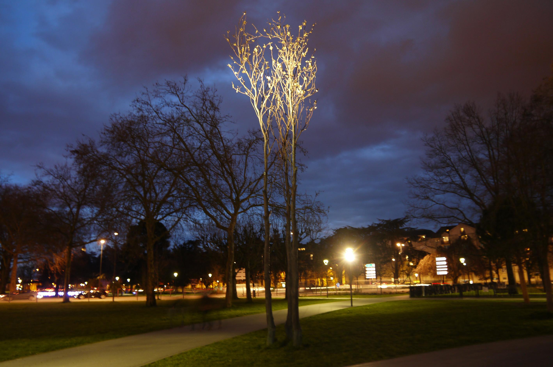 arbre doré Nantes