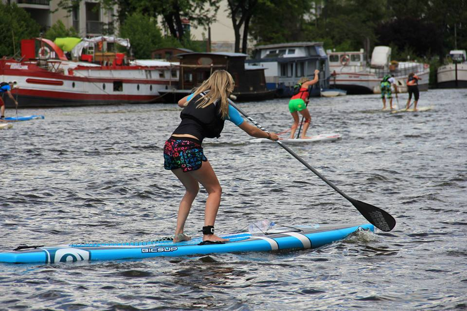 nantes paddle race