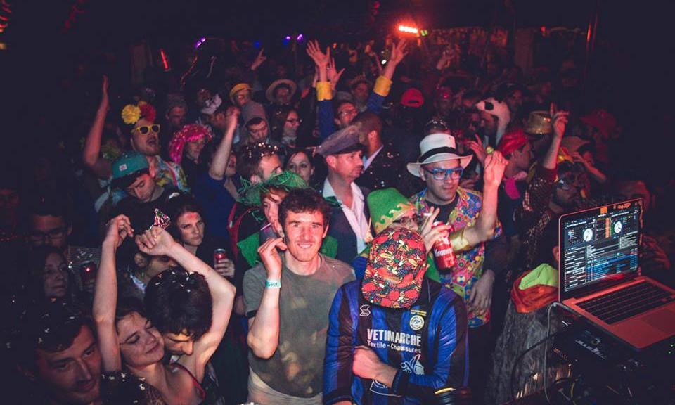 sweatlodge party nantes 2016