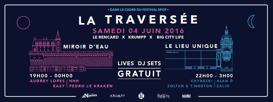 La Traversée Nantes festival spot 2016