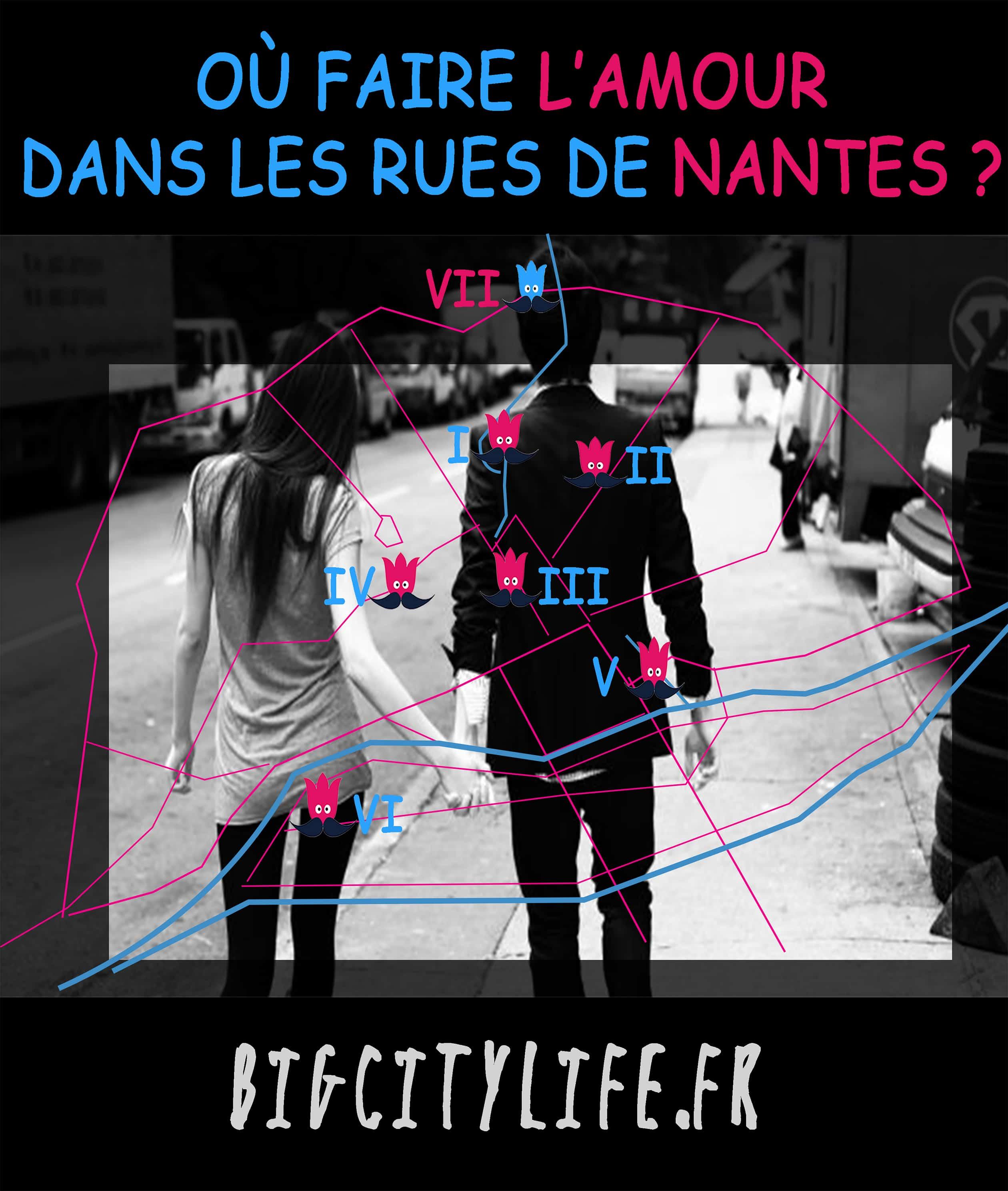 ou faire l'amour dans les rues de Nantes
