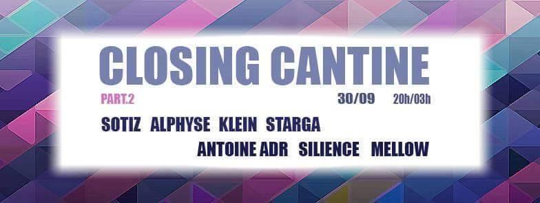 closing de la Cantine