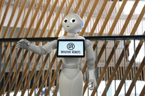 Le robot Pepper, Utopiales Nantes Festival de science-fiction