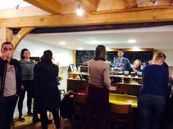 L'Artichaut, galerie café à Nantes
