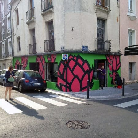 galerie street art nantes noty aroz et combo l 39 artichaut bigcitylife. Black Bedroom Furniture Sets. Home Design Ideas