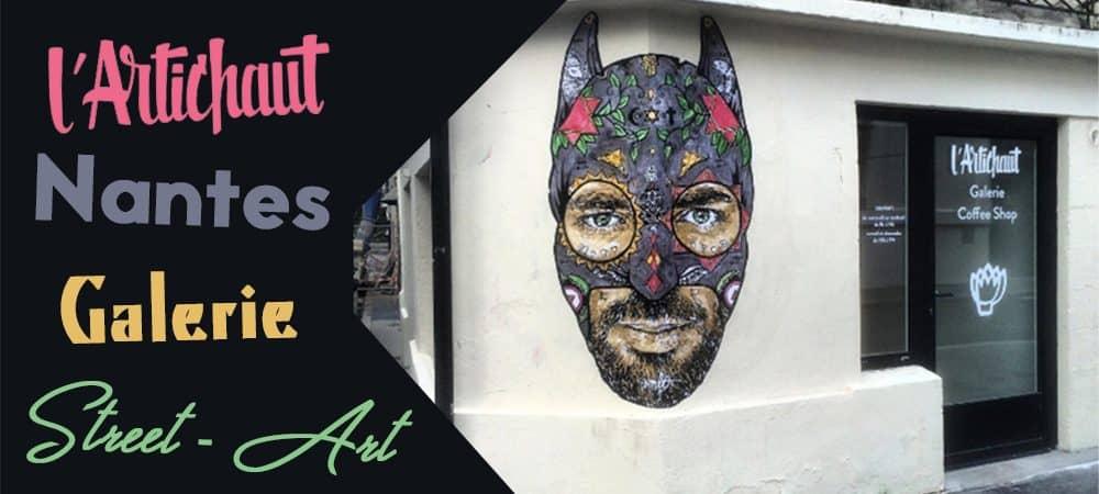 Galerie Street Art Nantes : Noty Aroz et Combo à L'Artichaut