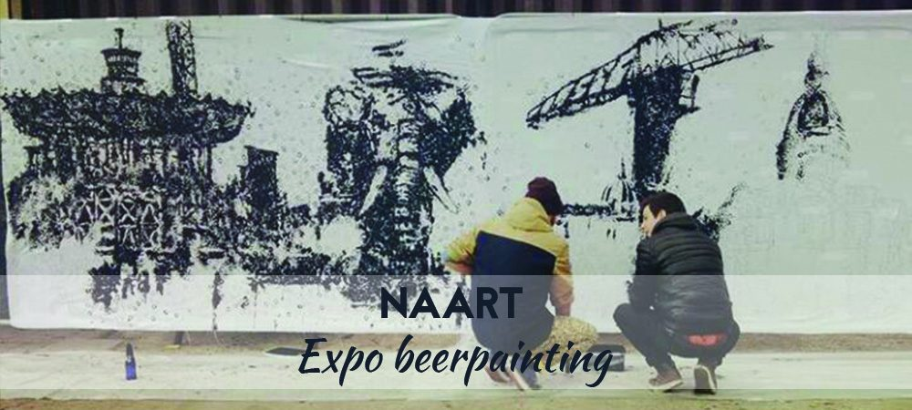 Beer Painting Nantes : Nouvelle expo aux Fleurs du Malt