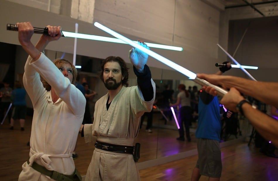 école de sabre laser
