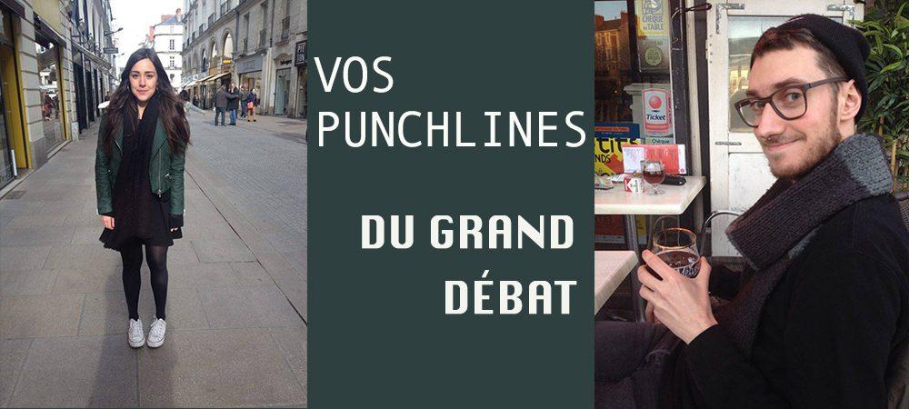 Le grand débat : les punchlines des nantais