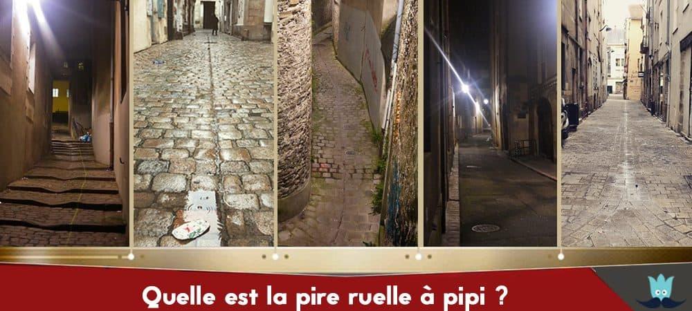 Les pires ruelles à pipi de Nantes : À vous de voter !