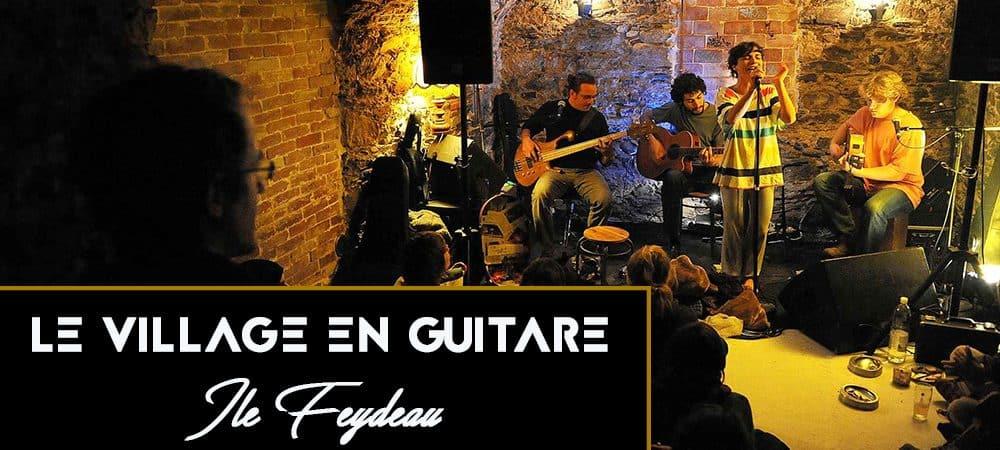 Le Village en guitare : 28 concerts dans 15 lieux