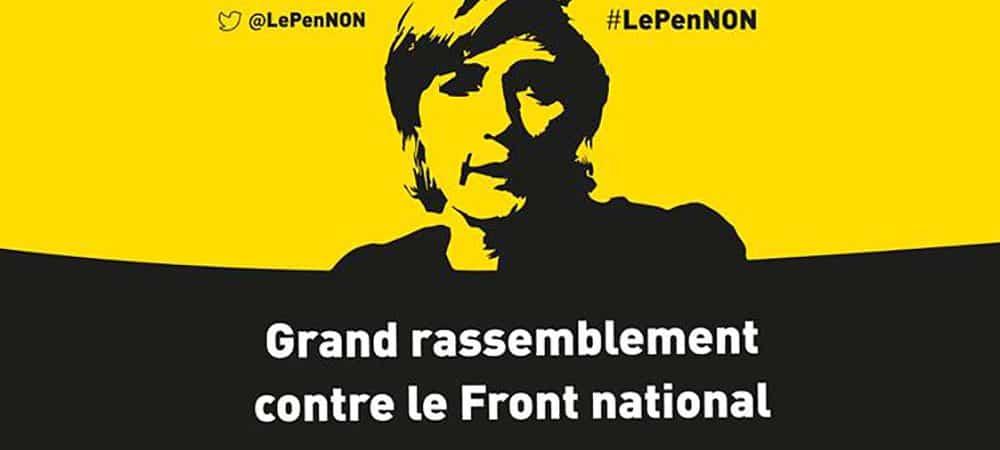 Marine Le Pen à 7% : À Nantes, on ne vote pas FN !