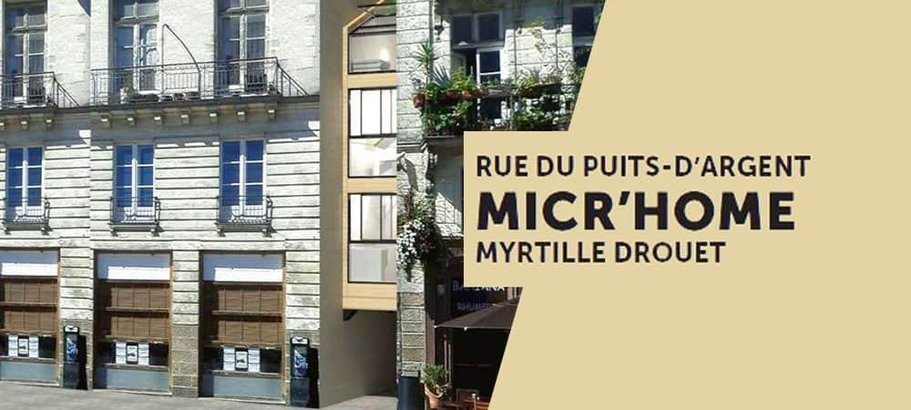 Micr'Home, un appartement suspendu dans une rue de Nantes !