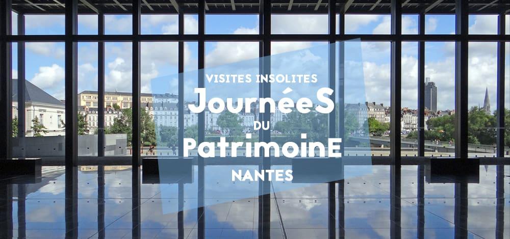 Journées du Patrimoine Nantes 2017 : Programme - BigCityLife