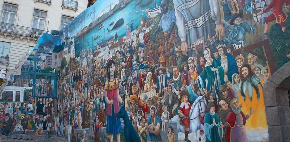 La Fresque De Royal De Luxe Va être Restaurée Bigcitylife