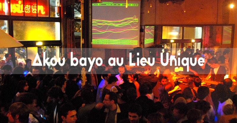 Akou Bayo au Lieu Unique