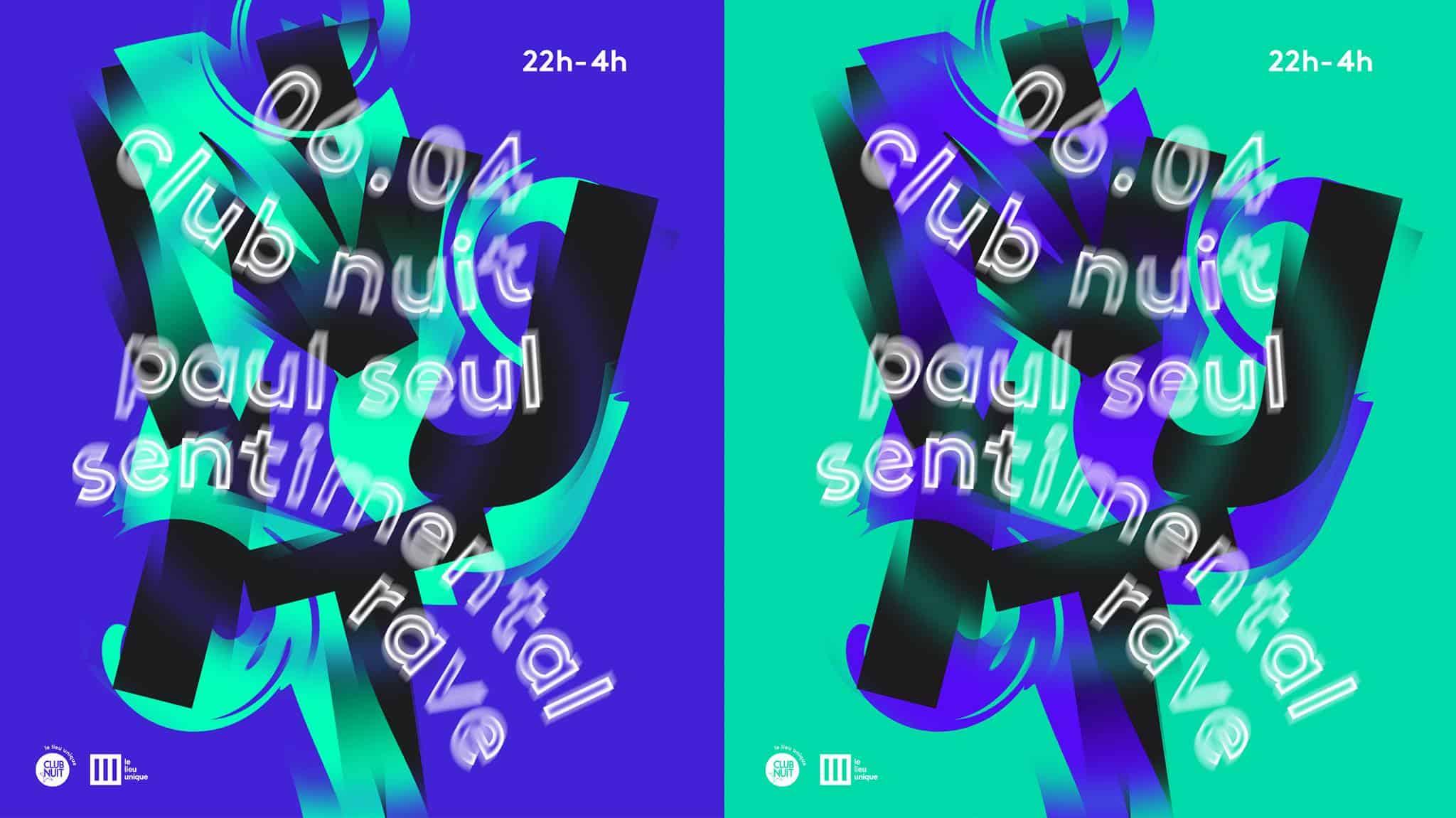 Soirée Club Nuit au Lieu unique