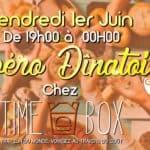 apero dinatoire chez time box