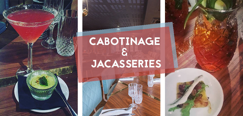 Cabotinage et Jacasseries