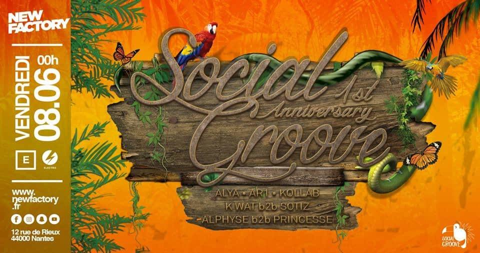 Social Groove Birthday