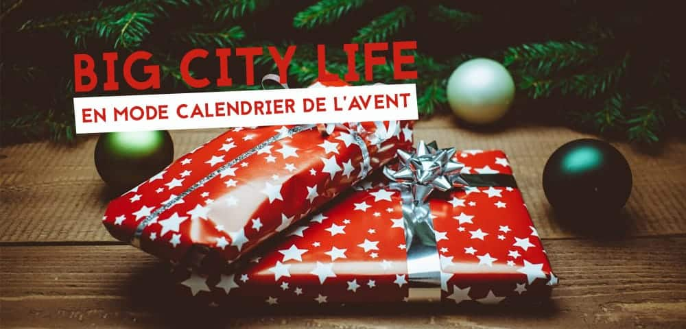 calendrier de lavent big city life