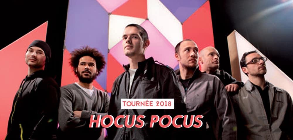 hocus pocus tournee 2018