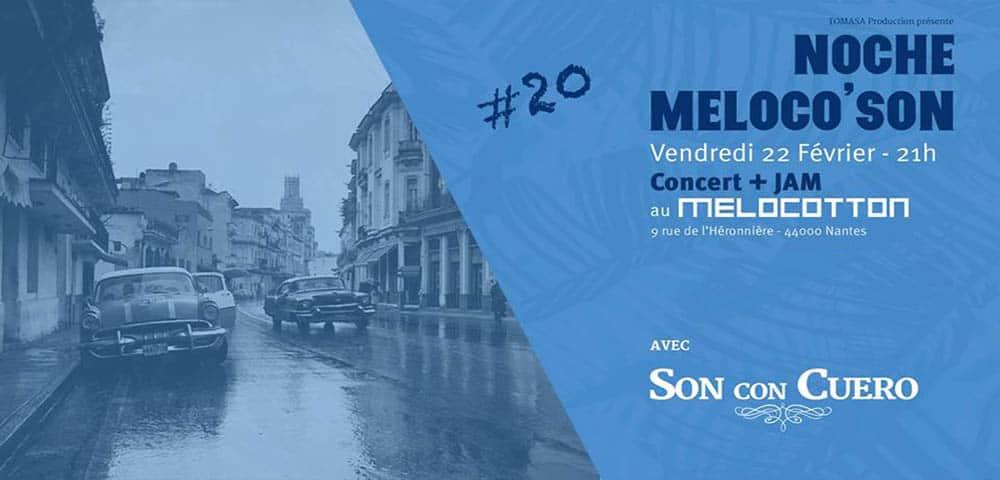 Noche Meloco'son #20 : musique cubaine à l'honneur !