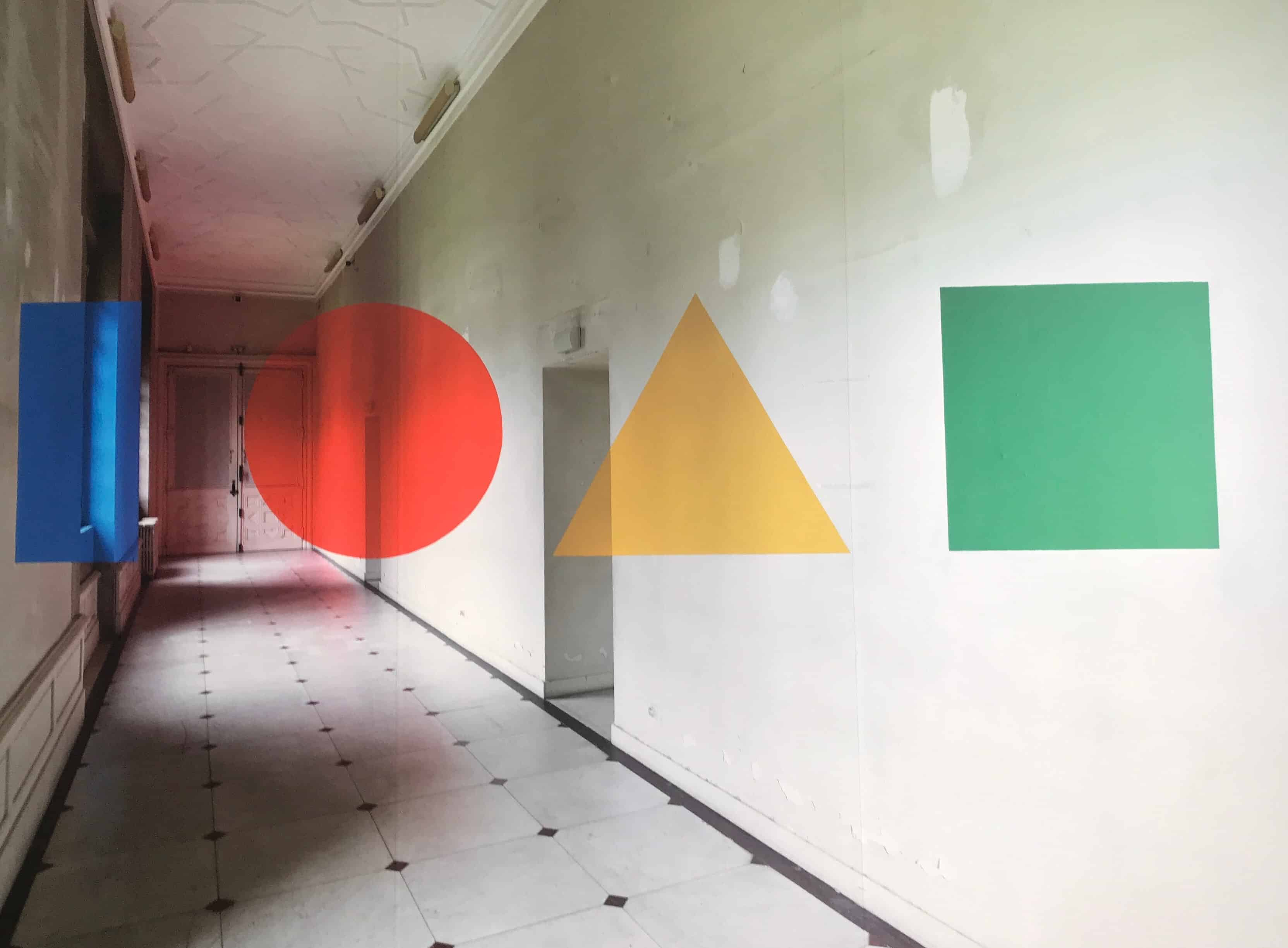 exposition musee dobree polygones de georges rousse