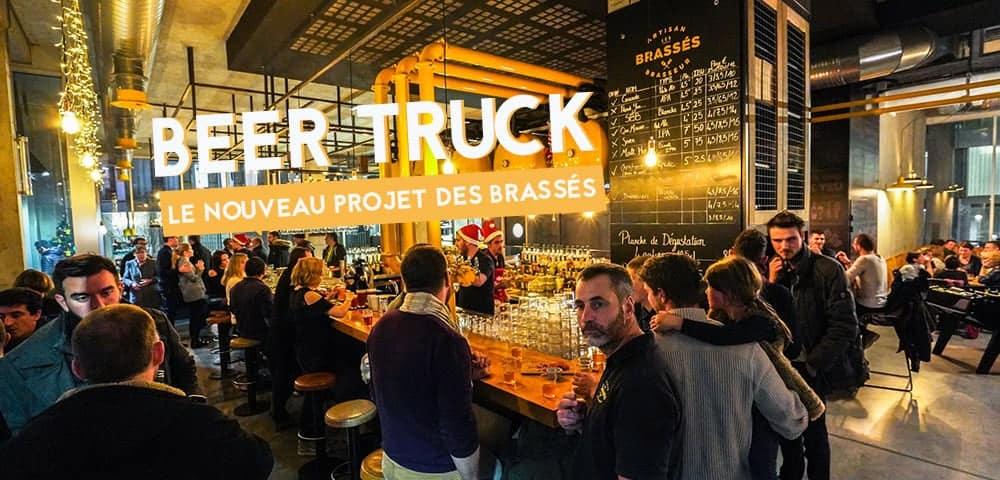les brasses beer truck nantes