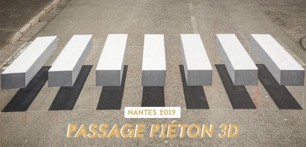 passage pieton 3D nantes