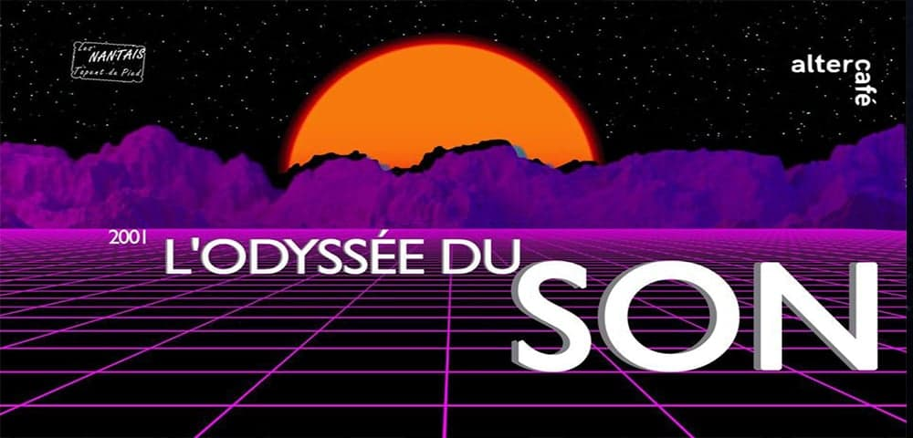 2001 l'Odyssée du son à l'Altercafé avec Les Nantais tapent du pied !