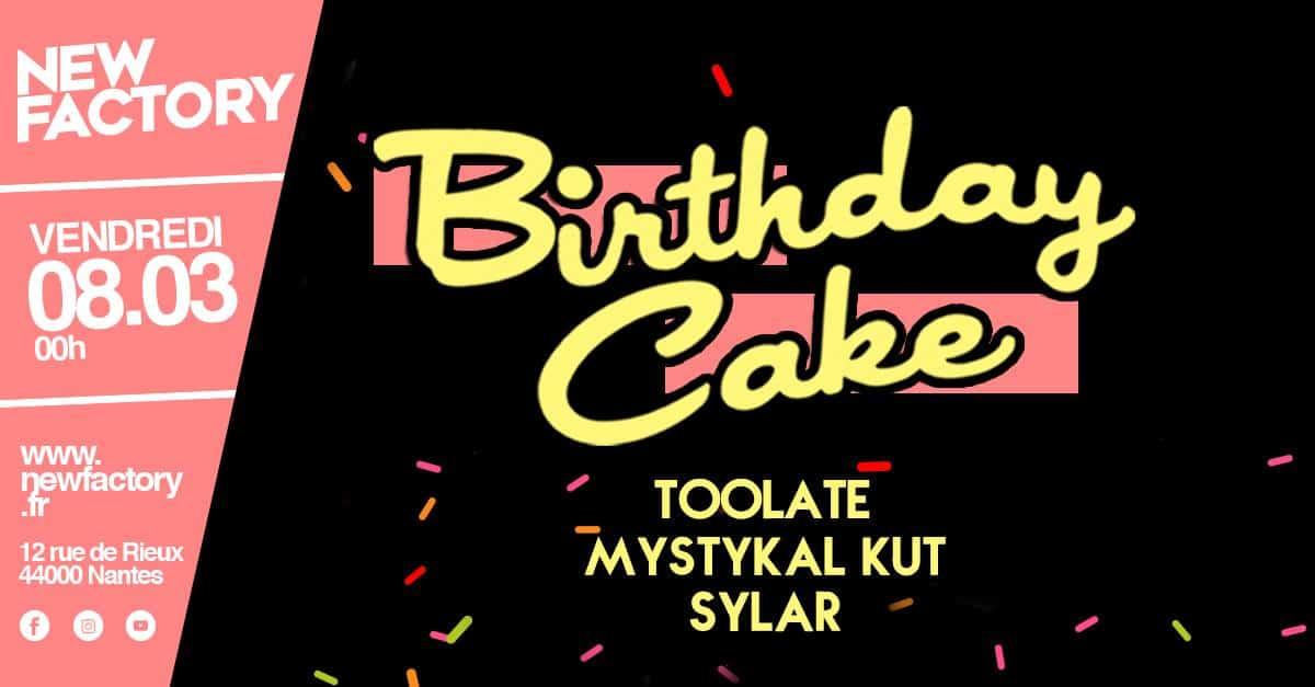 birthday cake new factory