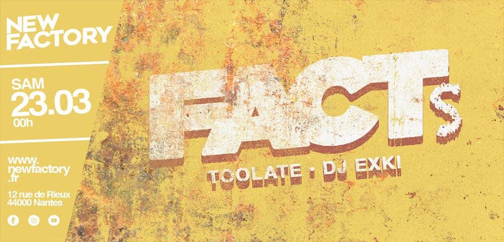Fact's  au New Factory, c'est samedi !