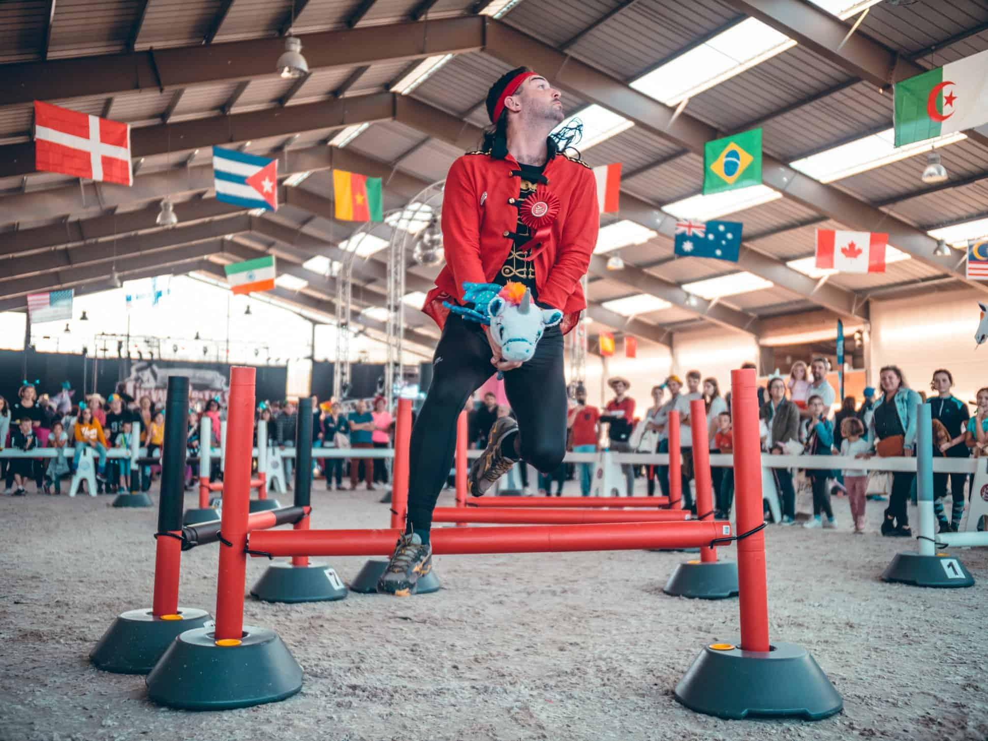 foire de nantes 2019 competition de cheval a 2 pattes