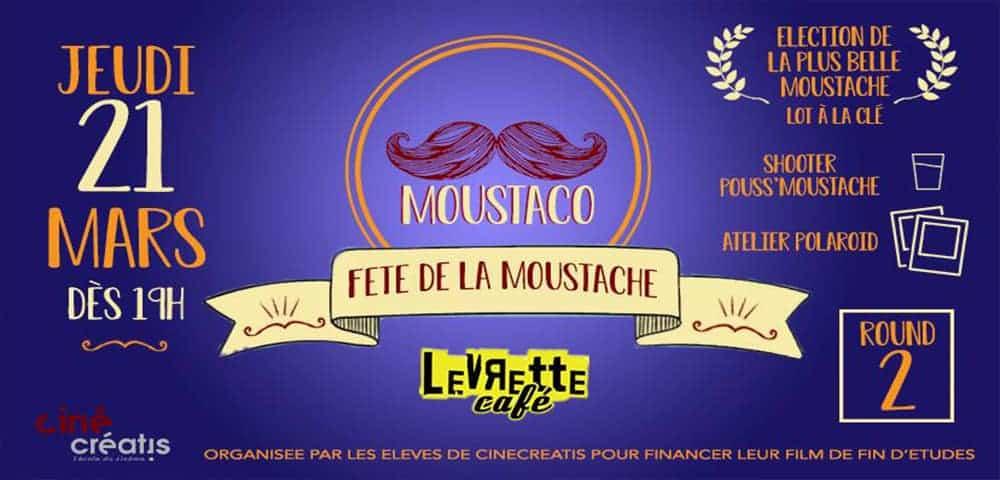 Les Moustacos reviennent au Levrette Café !