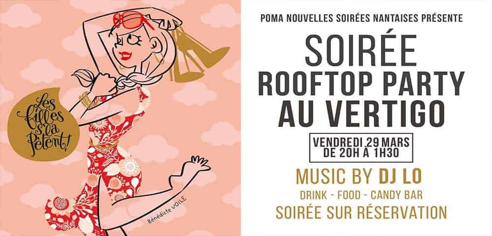 Le Vertigo organise une soirée Roof Top !