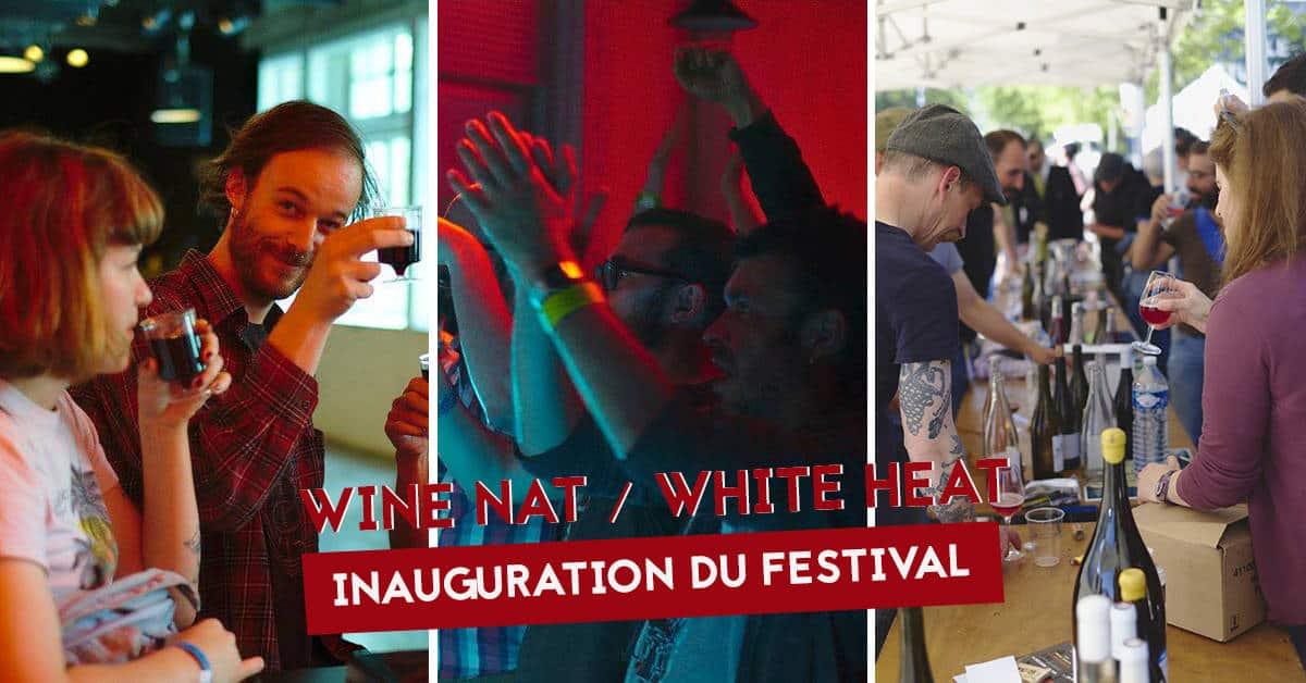 festival wine nat white heat inauguration musee dart de nantes