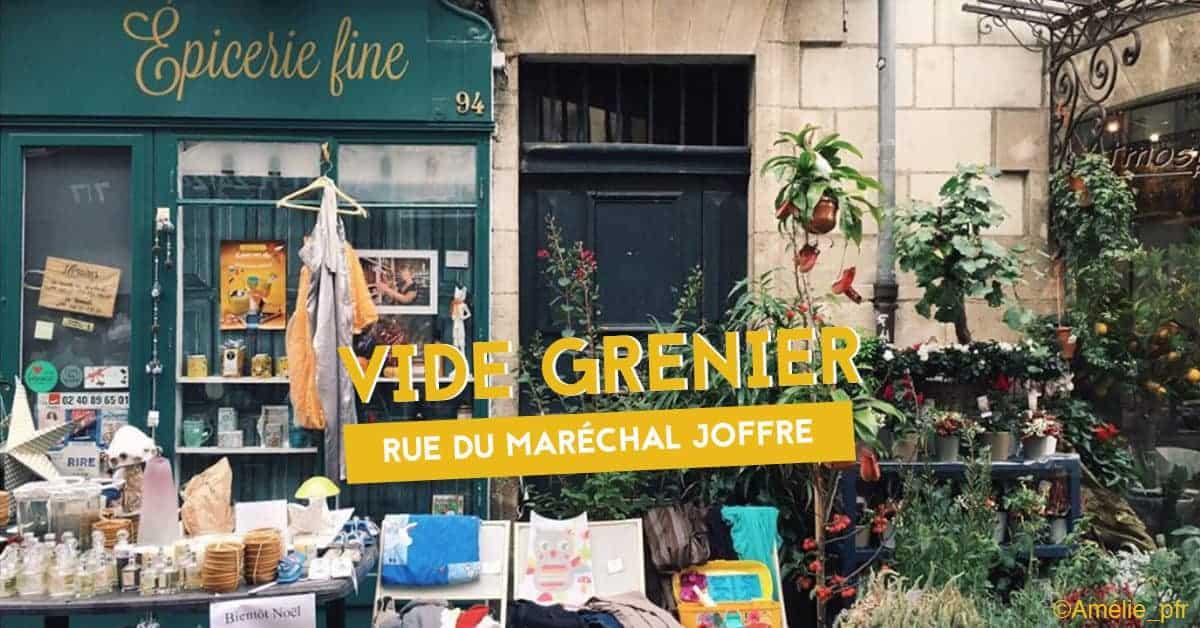vide grenier rue du marechal joffre nantes 2019