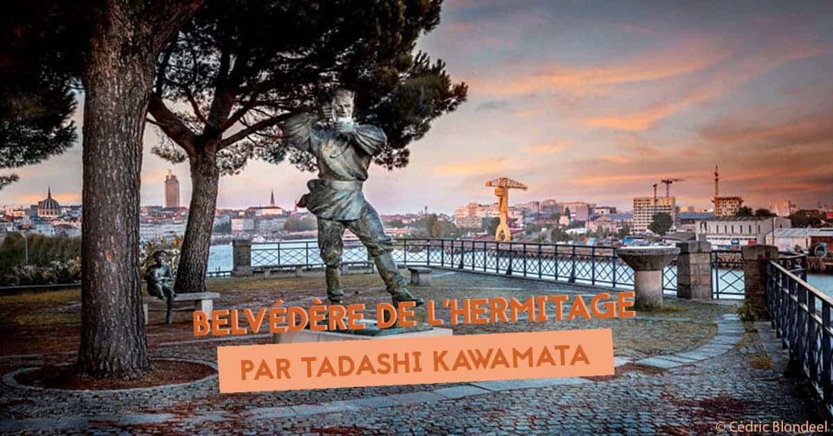 belvedere de lhermitage de tadashi kawamata par le voyage a nantes a la butte sainte-anne 2