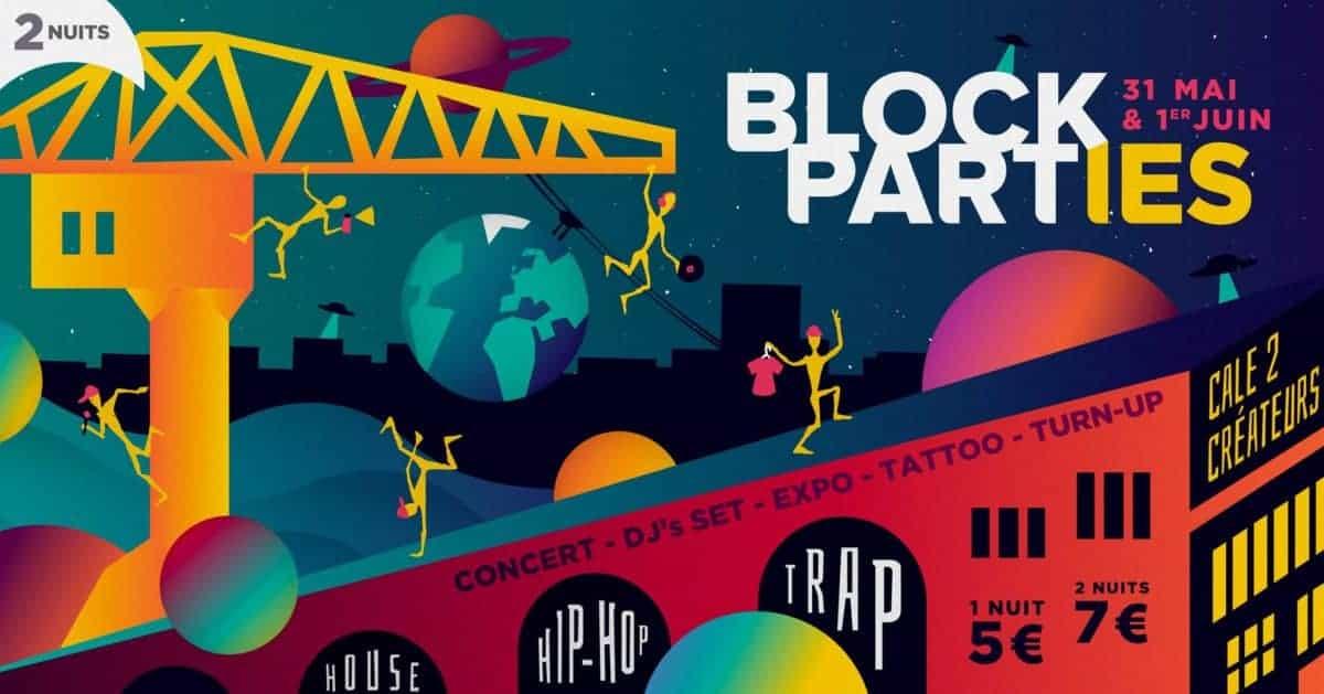 block parties nantes