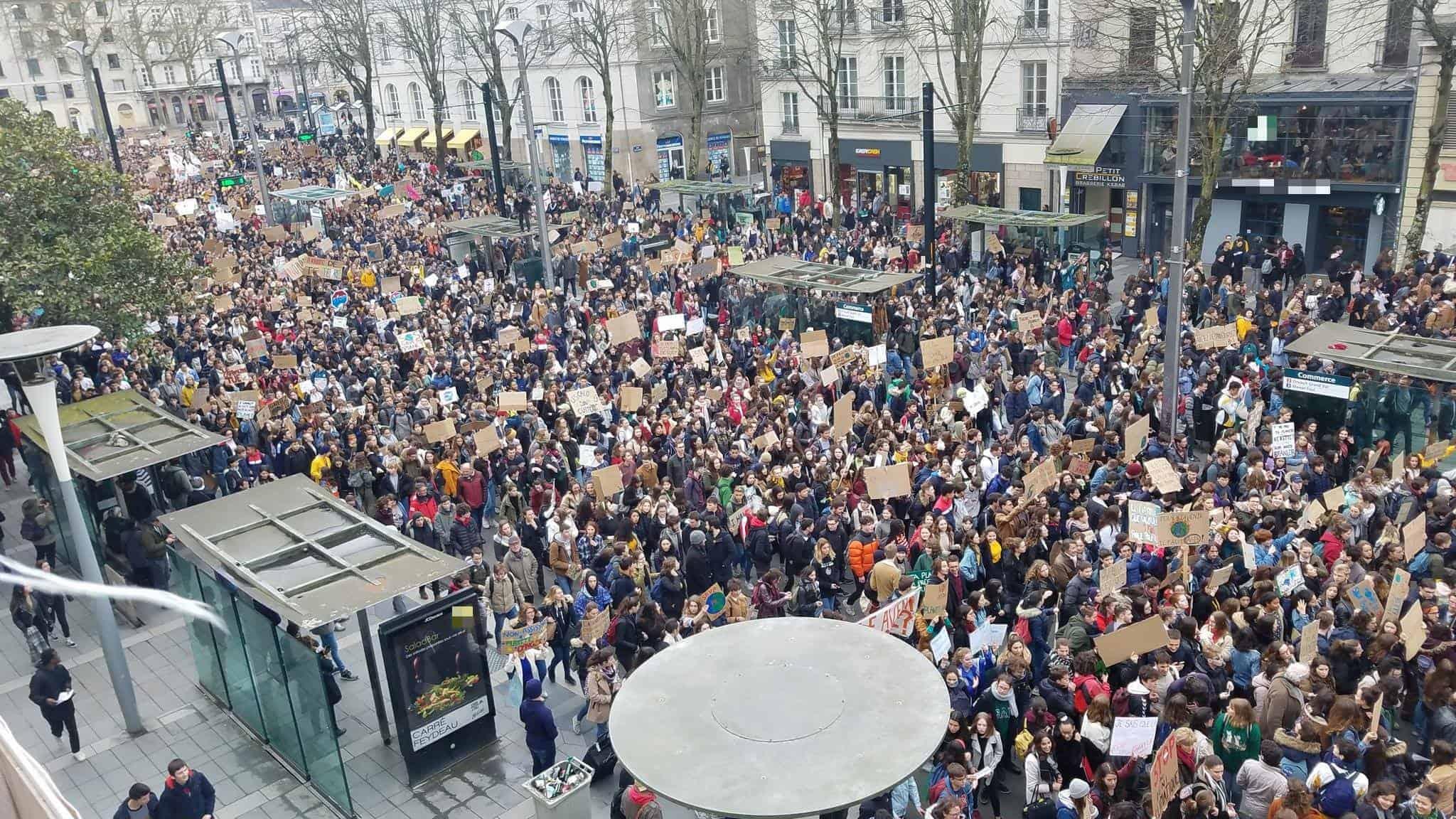 climat grève Nantes