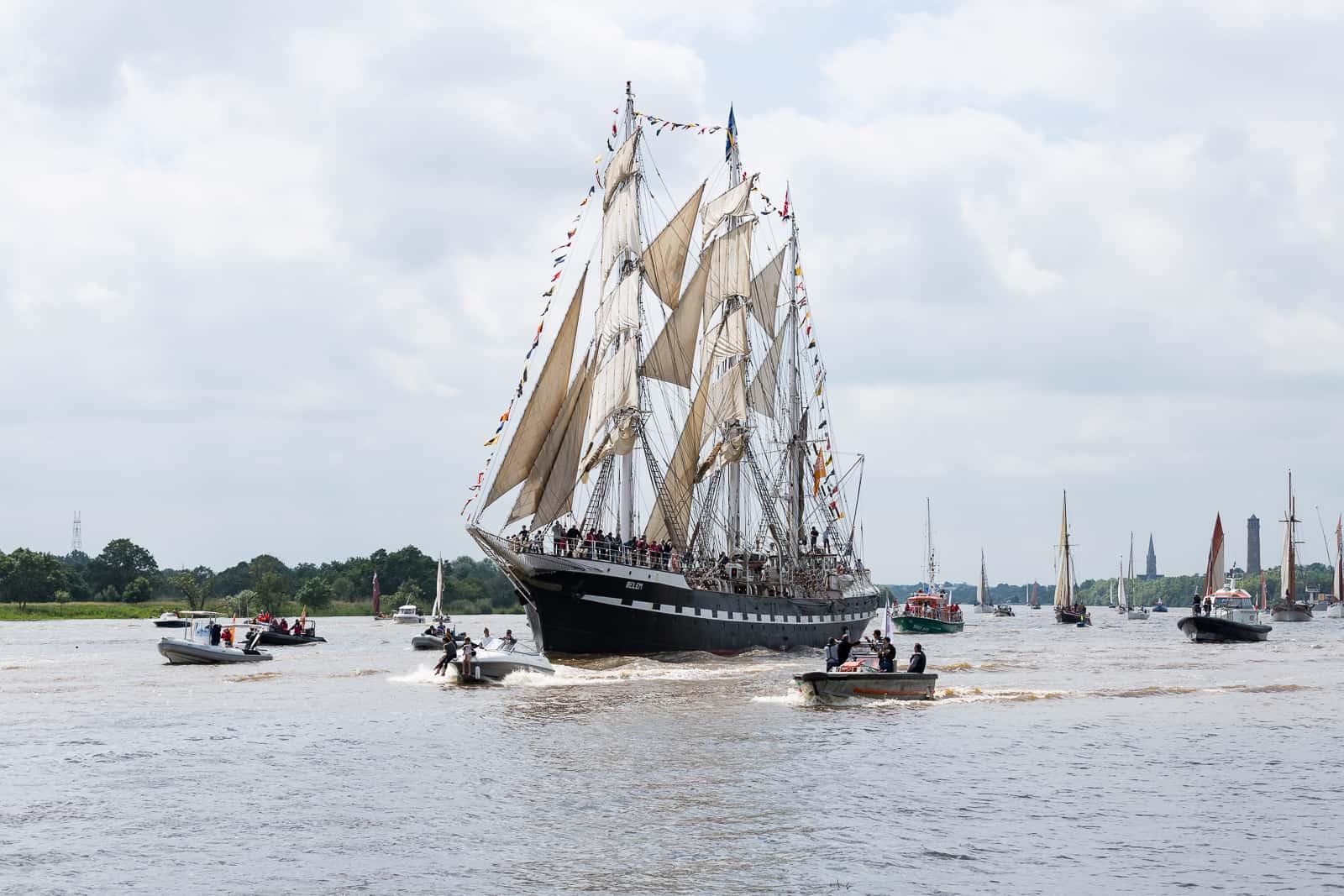 Débord de Loire nautique artistique bateau 2019 nantes
