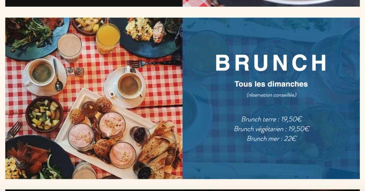 Le dimanche c'est brunch à La Bonne Franckette !