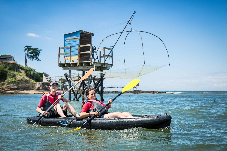 kayak-de-mer activites nautiques loire-atlantique