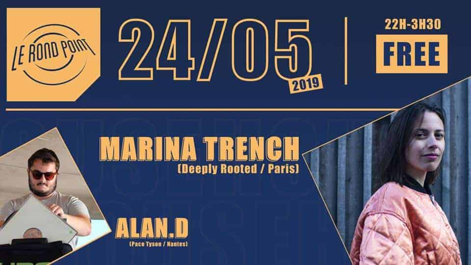 le rond point marina trench alan d soirée nantes