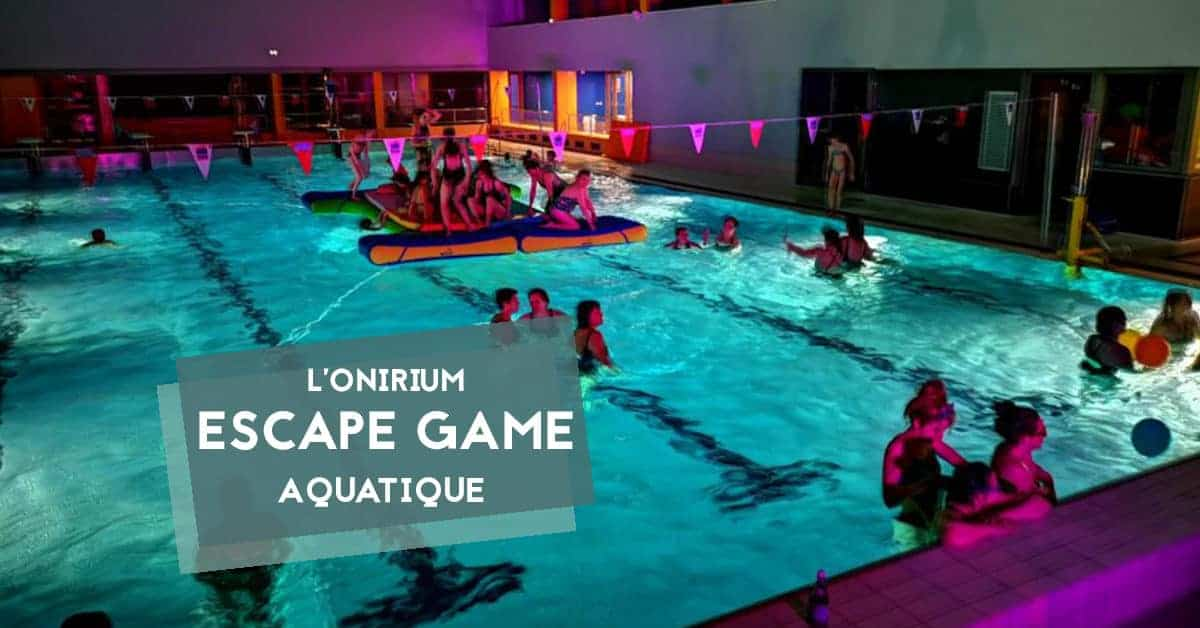 onirium escape game aquatique nantes