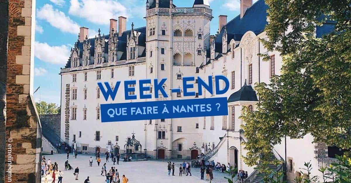 Que faire a Nantes ce week-end du 21, 22 et 23 juin 2019