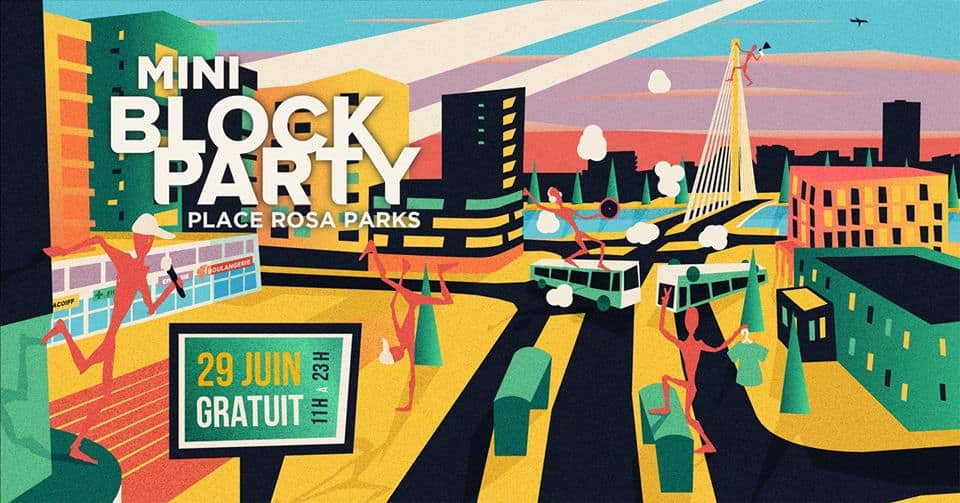 block party malakoff rosa parks