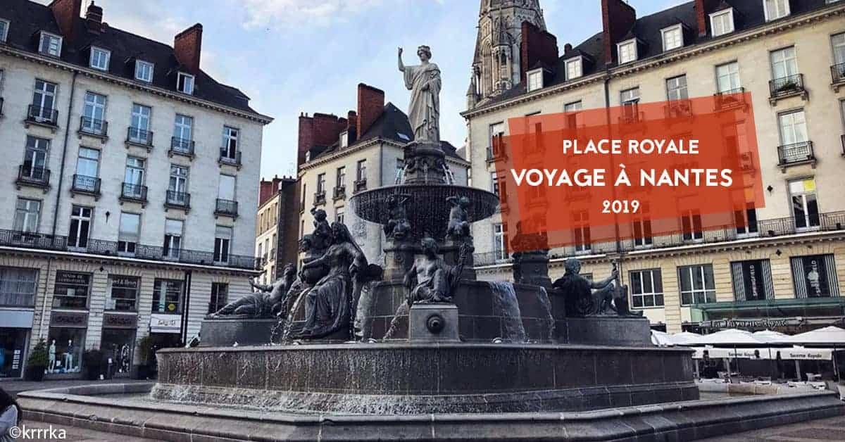 voyage a nantes place royale 2019 statues 1